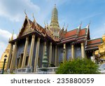 beautiful wat prakaew  bangkok  ... | Shutterstock . vector #235880059