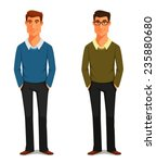 cartoon illustration of a... | Shutterstock .eps vector #235880680