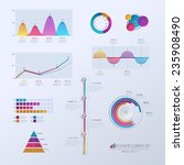 set elements of infographics.... | Shutterstock .eps vector #235908490