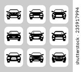 car icons set | Shutterstock .eps vector #235917994