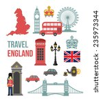 great britain vector flat icon... | Shutterstock .eps vector #235973344