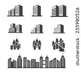building icon | Shutterstock .eps vector #235980526