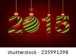 elegant new year 2015 ... | Shutterstock .eps vector #235991398