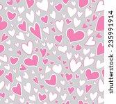 seamless pattern of stylized... | Shutterstock .eps vector #235991914