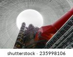 thermal power plant with large... | Shutterstock . vector #235998106