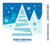 vector greetings card  ... | Shutterstock .eps vector #236004283