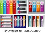 colorful modern text box... | Shutterstock .eps vector #236006890