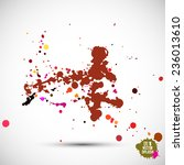 abstract artistic element...   Shutterstock .eps vector #236013610