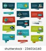 shopping banner flat design... | Shutterstock .eps vector #236016160