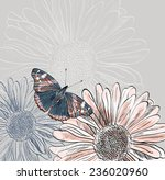 illustration of beautiful... | Shutterstock .eps vector #236020960