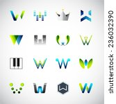 abstract icons design based on... | Shutterstock .eps vector #236032390
