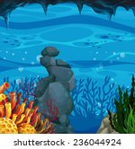 Poster Of An Underwater Scene