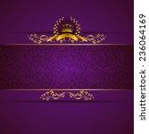 Elegant Golden Frame Banner...