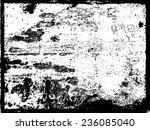 splatter paint texture .... | Shutterstock .eps vector #236085040