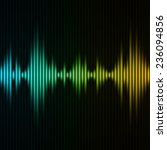 abstract digital equalizer.... | Shutterstock .eps vector #236094856