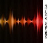 abstract digital equalizer.... | Shutterstock .eps vector #236094868