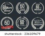 anniversary laurel wreath...   Shutterstock .eps vector #236109679