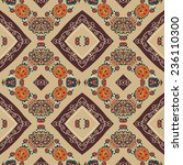 floral seamless pattern in... | Shutterstock .eps vector #236110300