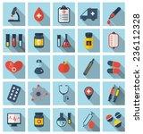 illustration collection trendy... | Shutterstock .eps vector #236112328