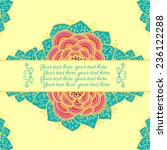 sample text background with... | Shutterstock .eps vector #236122288