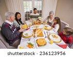 three generation family having...   Shutterstock . vector #236123956
