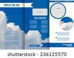 brochure design templates for... | Shutterstock .eps vector #236125570