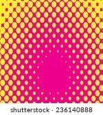 halftone background for concept ... | Shutterstock .eps vector #236140888