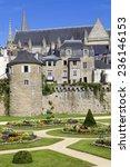 the historic city of vannes in... | Shutterstock . vector #236146153