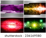 collection color light abstract ... | Shutterstock .eps vector #236169580