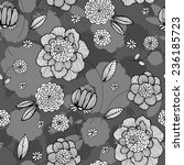 vector seamless pattern with... | Shutterstock .eps vector #236185723
