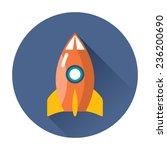 rocket icon | Shutterstock .eps vector #236200690