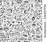 computer games   seamless... | Shutterstock .eps vector #236207956