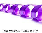 gift ribbon isolated on white | Shutterstock . vector #236215129