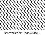 seamless unusual zig zag... | Shutterstock .eps vector #236233510
