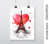 Beautiful Hand Draw Poster...