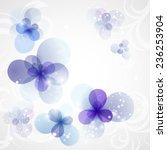 winter background with frozen...   Shutterstock .eps vector #236253904