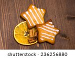 Christmas Cookies With Orange...