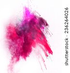 launched colorful powder ... | Shutterstock . vector #236264026