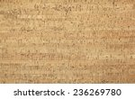 Light Brown Cork Wood Panel  ...