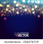 shining bokeh illustration.... | Shutterstock .eps vector #236276719