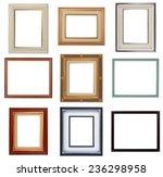 modern frames  photo frame... | Shutterstock . vector #236298958
