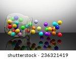 3d rendering of a lot of... | Shutterstock . vector #236321419