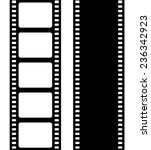 set of film frame  vector... | Shutterstock .eps vector #236342923
