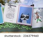london   august 9. posters... | Shutterstock . vector #236379460