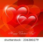 valentine's day vector... | Shutterstock .eps vector #236380279