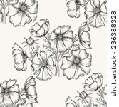 flower  seamless pattern can be ... | Shutterstock .eps vector #236388328