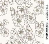 flower  seamless pattern can be ... | Shutterstock .eps vector #236388418