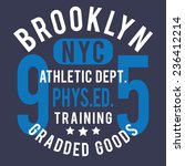 Sport Athletic Nyc  Typography...