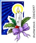 christmas decoration  | Shutterstock .eps vector #23642497