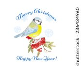 christmas greeting card. | Shutterstock .eps vector #236434960